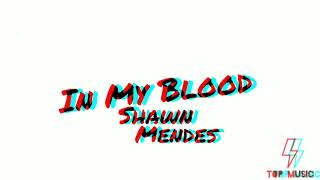 Shawn Mendes - In My Blood (Official Audio)   Top Music