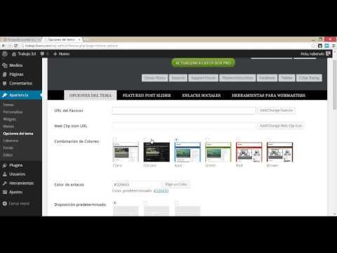 Cómo configurar WordPress (básico)