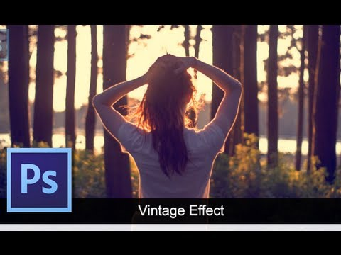 0 Adobe Photoshop CS6   [Vintage Effect] [Basic Way]