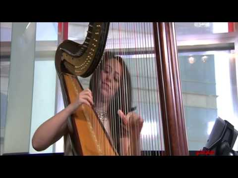 All Of Me John Legent Harp Cover by Dubai based Harpist Lidia Harp MBC Morning Show