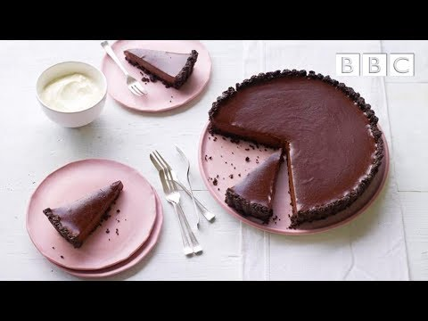 Salted chocolate tart recipe - Simply Nigella: Episode 4 - BBC Two