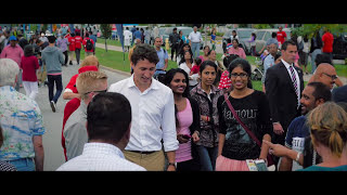Justin Trudeau at Tamil street fest, Scarborough, ON. 2015