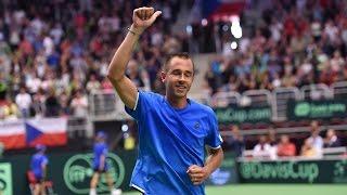 Highlights: Lukas Rosol (CZE) v Jo-Wilfried Tsonga (FRA)