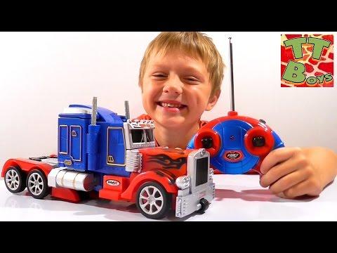 ✔ Трансформер Оптимус Прайм. Видео для мальчиков. Игорек и Игрушки. Transformers Optimus Prime. VLOG