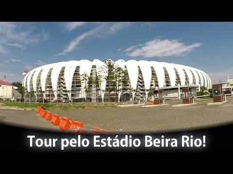 Tour pelo Estádio Beira Rio! S.C. Internacional - Spitão de Ténéré a 60FPS! [PT-BR]