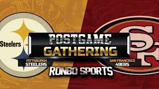 49ers vs Steelers Week 3 2019 Postgame Fans Gathering