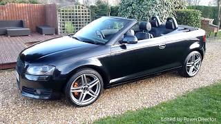 Video Review of 2008 Audi A3 S Line Convertible For Sale SDSC Specialist Cars Cambridge UK