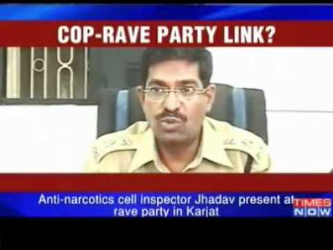 Rave party busted near Mumbai 10 held with drugs - Video   The...