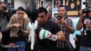 Frankie Gomez vs. Silverio Ortiz full video- Complete Gomez media workout video