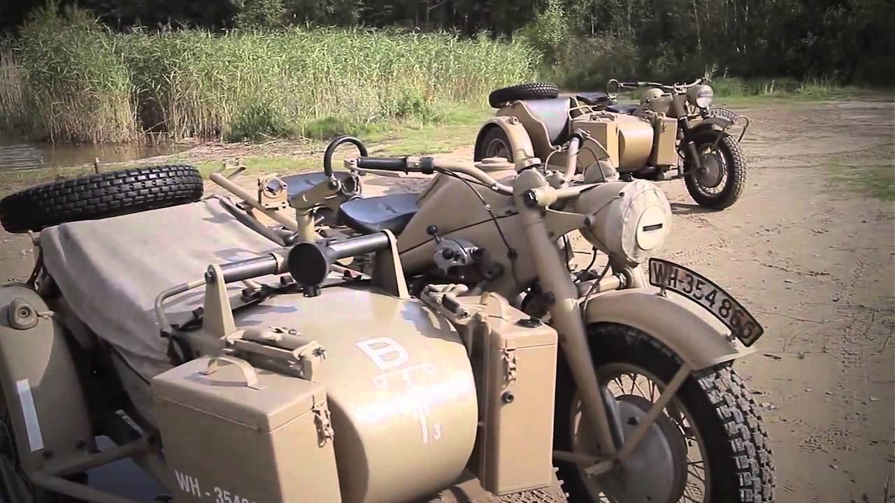Vídeo: As extraordinárias BMW R75 (1943) e a Zündapp KS750 (1944) + Sidecar