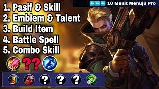 New Hero [GRANGER] Skill, Emblem, Build, Combo Full Tutorial Menuju PRO - Mobile Legend Bang Bang