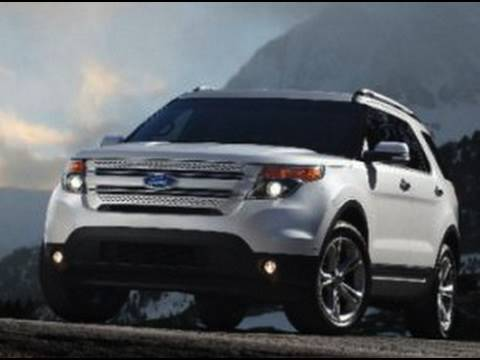 2011 Ford Explorer, Audi A7 coupe, Ferrari F1 Team Orders
