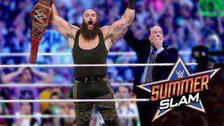 13 SHOCKING Last Minute WWE Summerslam 2018 Rumour
