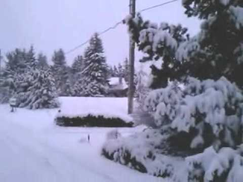 Sequim Washington Snow 2011