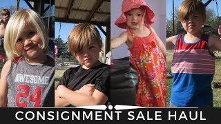 CHILDREN'S CONSIGNMENT SALE HAUL || Just Between Friends Sale