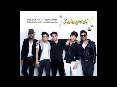 Party All Night  - Trilha Sonora Chiquititas (banda The Destiny) video