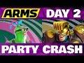 Lagu ARMS Party Crash DAY 2 Helix Vs Max Brass!