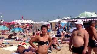 Пляж в Витязeвo.