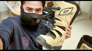 How to Clean MOTORCYCLE BOOTS after 4 years ! - MX