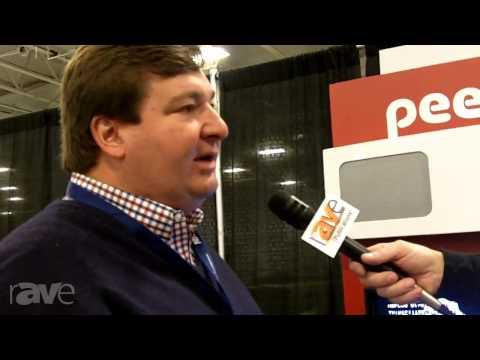 E4 AV Tour: Peter Hopkins of Peerless-AV Shows rAVe How HD Flow Sends AV Wirelessly