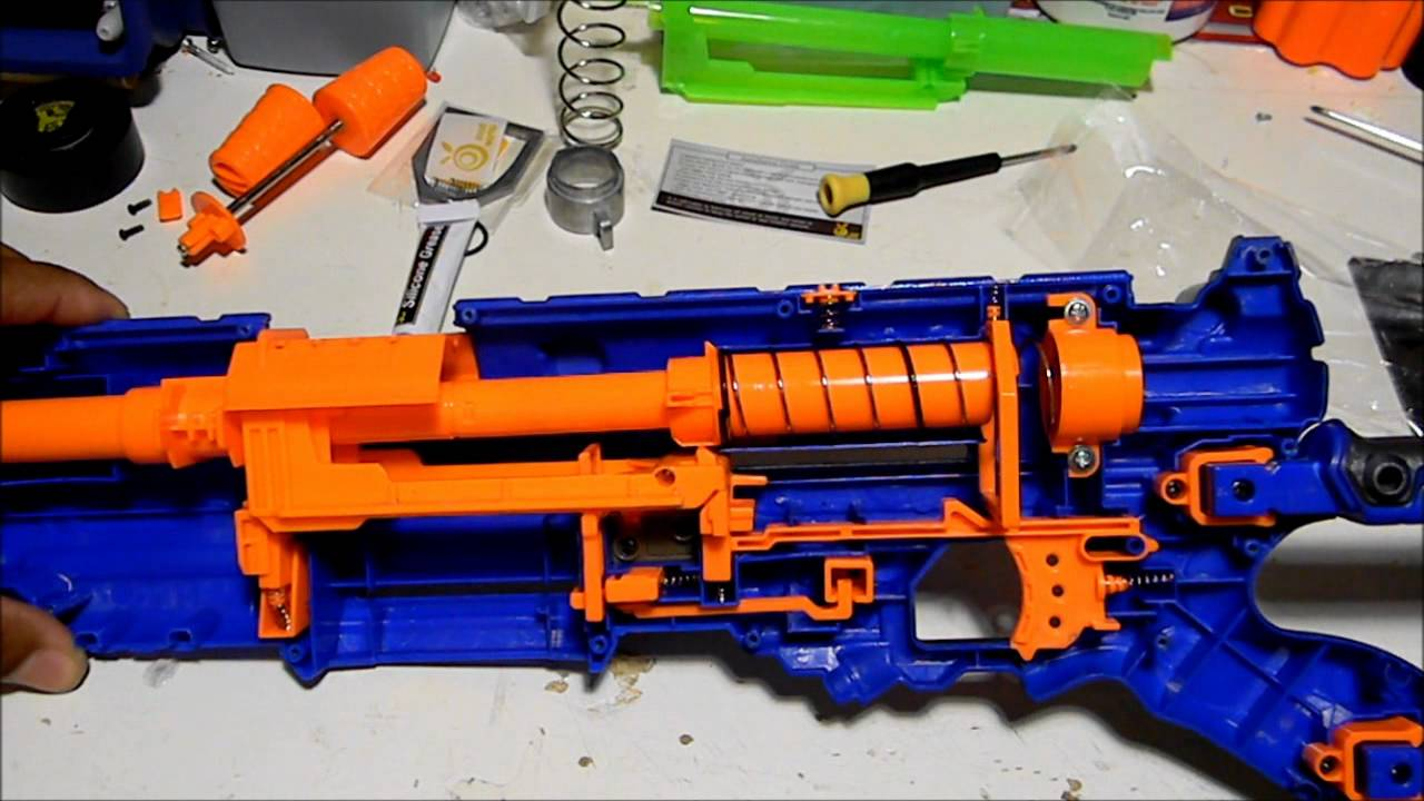 Images Of Nerf Guns Coloring Pages