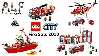 All Lego City Fire Sets 2010 - Lego Speed Build Review