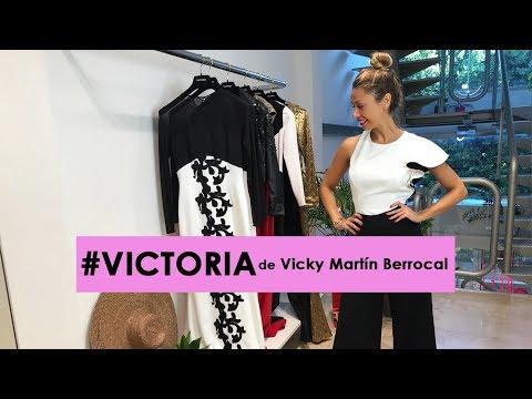 VICTORIA: La colección de vestidos de fiesta y boda de Vicky Martín Berrocal en OTTRO