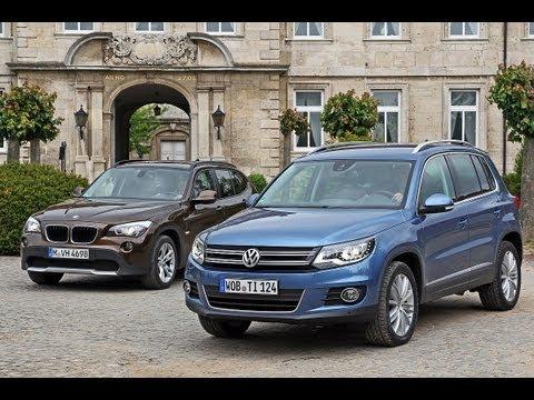 VW Tiguan vs. BMW X1 - Tiguan fordert X1