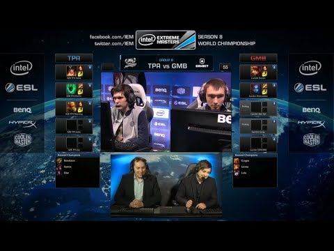 Taipei Assasins vs Gambit Gaming | IEM Katowice WC LOL 2014 Group B Round 1 | TPA vs GMB