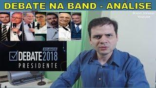 Análise: Debate na Band com Bolsonaro, Alckmin, Marina, Ciro, Boulos...