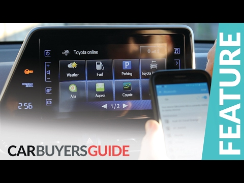 How to use Toyota Touch 2 multimedia system in the C-HR