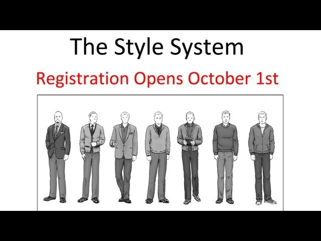 Style System October Overview - Registration Opens October 1st - Go To StyleSystemSignup.com