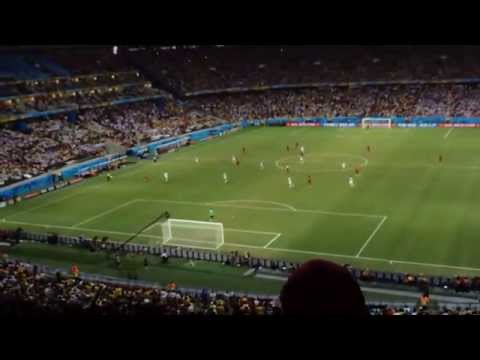 Brazil World Cup 2014-Germany -Ghana 2-2-Miro Klose writes history! Violent fans - out