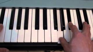 How to play Sense - Tom Odell - on piano