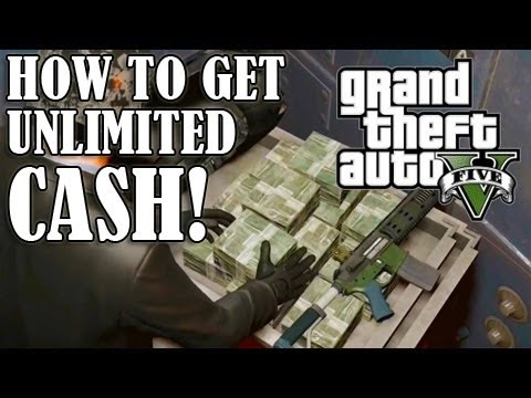 GTA 5 ONLINE - How To Get Unlimited MONEY/CASH! - GLITCH