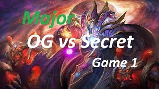 Epic Miracle Invoker OG vs SECRET Game 1 - The Frankfurt Major 2015 Grand Final