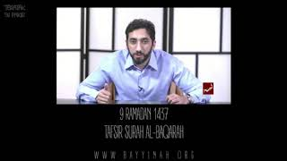 Video: In Exodus 2:15, Moses went to Kaaba (Black Stone) and Midian (Saudi Arabia) - Nouman Ali Khan