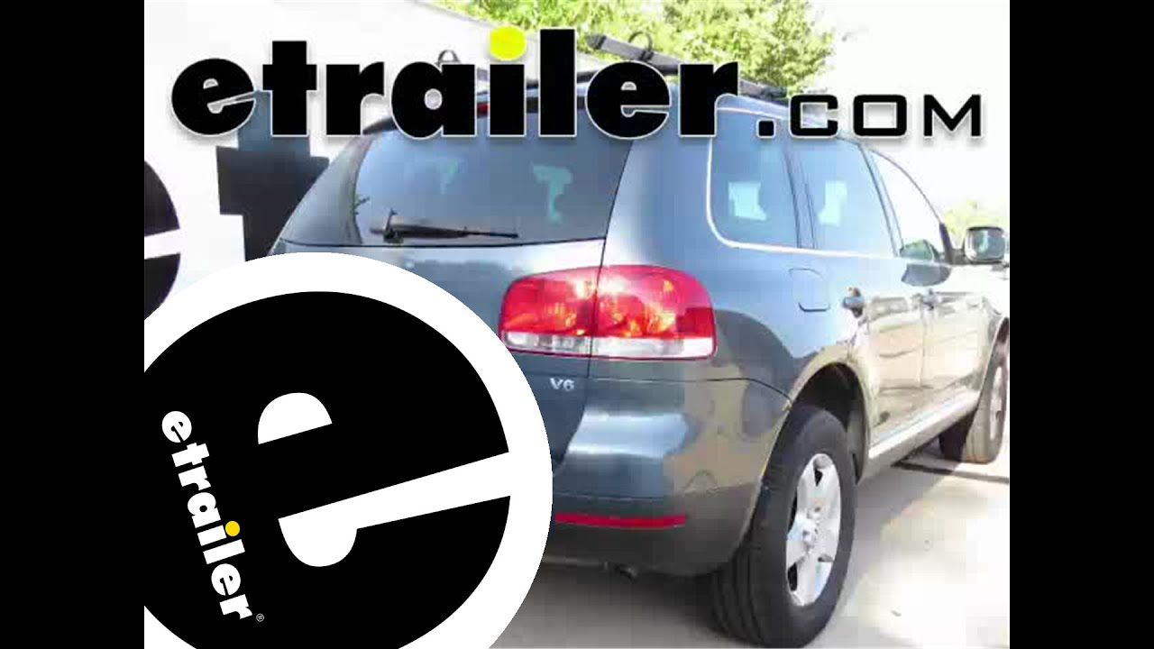 Installation of a trailer hitch on a 2004 volkswagen touareg etrailer com youtube