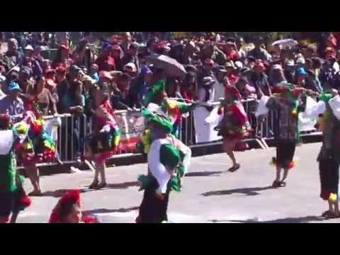 Qoriwayra bailando SALLAQ TUSUY