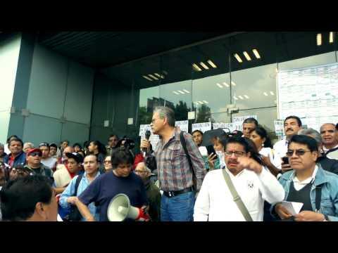 Mega Marcha ANUEE a PROFECO - CFE - GOBERNACION 23 de Julio 2015 - PARTE 1