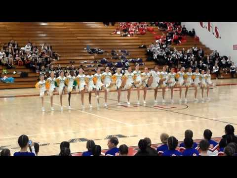 Garden City Middle School Pom Pon Regionals!!