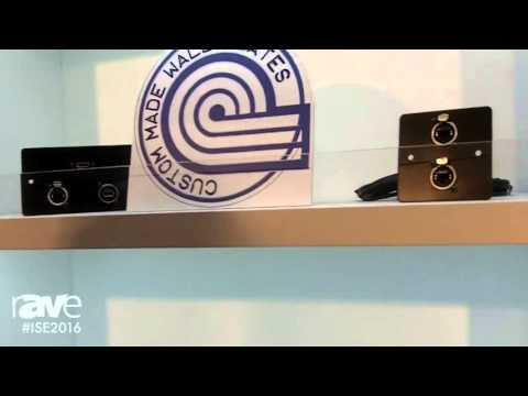 ISE 2016: EuroNetwork Details Bespoke and Custom Wall Plates