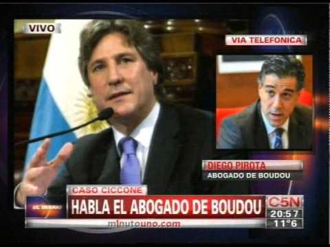 C5N - EL DIARIO: HABLA EL ABOGADO DE BOUDOU POR EL CASO CICCONE