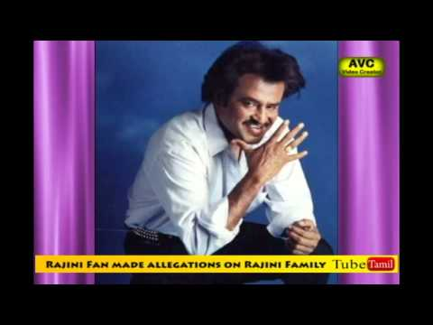Rajini Family didnt take care: Rajini Fan
