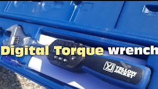 HVAC - Yellow Jacket Digital Torque Wrench Demo/Review
