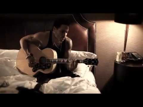 Lenny Kravitz STAND (Acoustic) in hotel bedroom