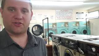 Day 1 of laundromat renovation