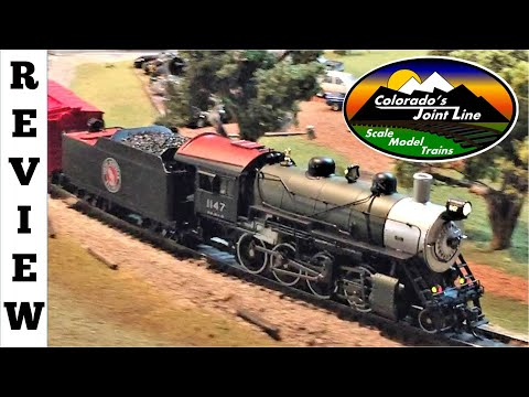 Review of BLI's Great Northern 2-8-0 HO Scale Model Train Steam Engine