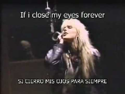 Lita Ford & Ozzy Osbourne - Close My Eyes Forever subtitulos (ingles - español)