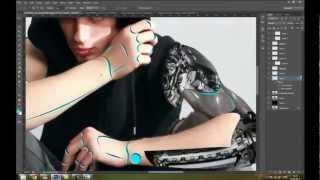 Mpaolo Tutoriais Photoshop - Speed art Cyborg assassin